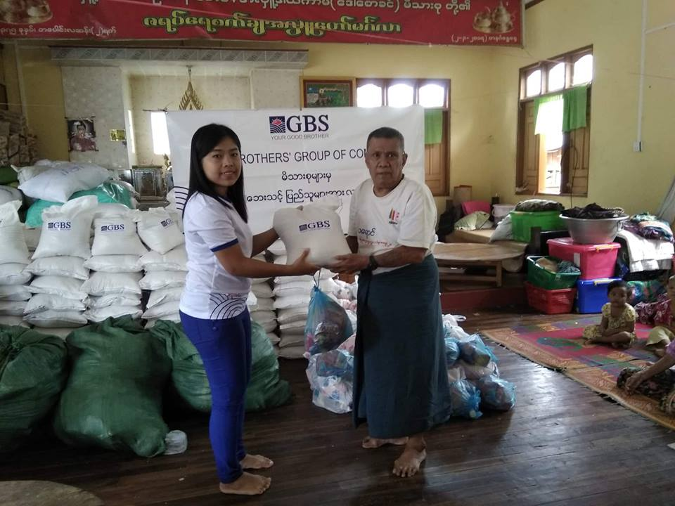 Donation to Flood Relief (Photo 9)