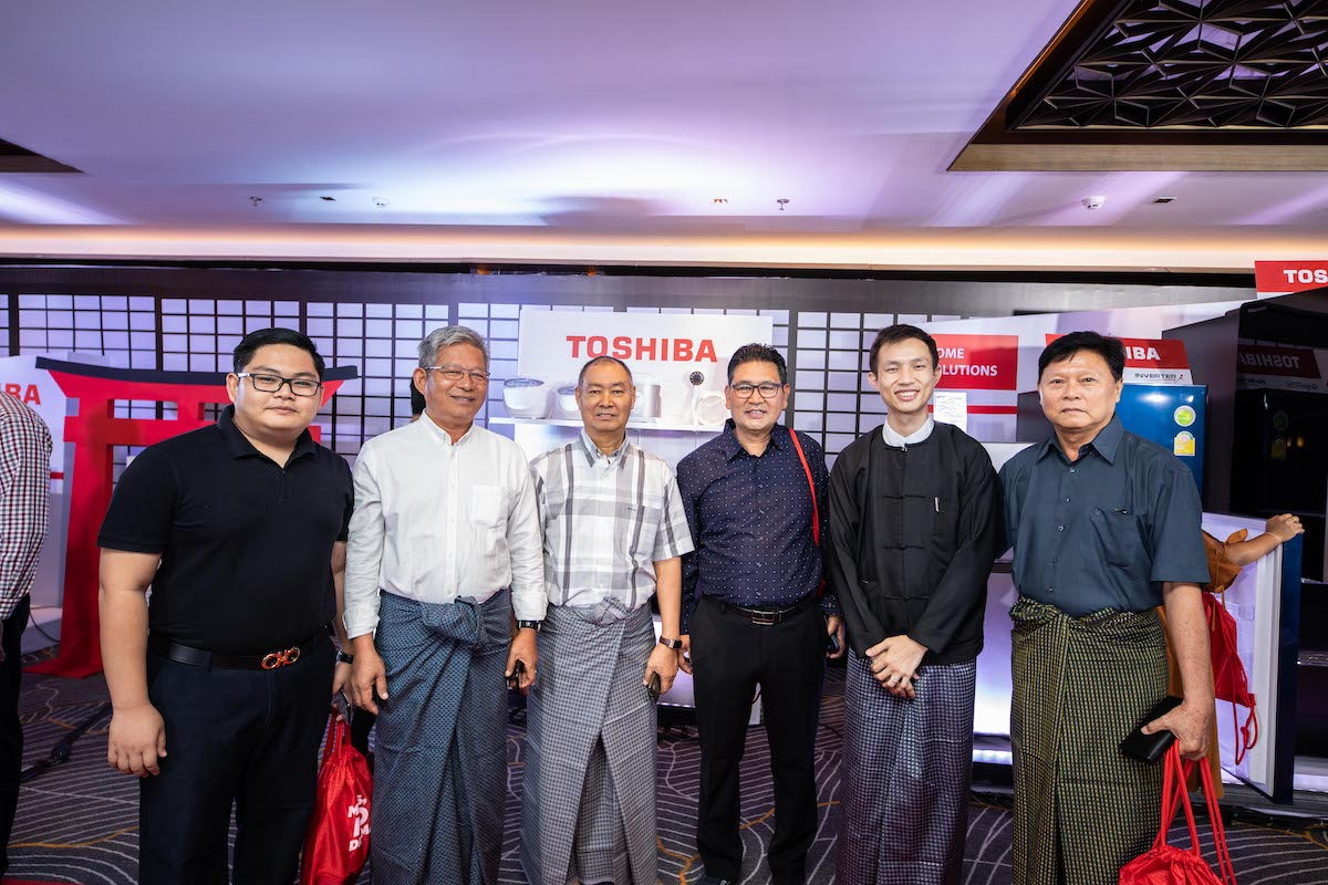 VSK International မှ Toshiba 'No Drama' Launch