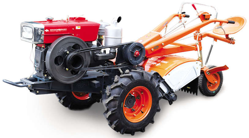 Changchai Brand Two Wheel Tractor (DF20MED) (Large Shaft)